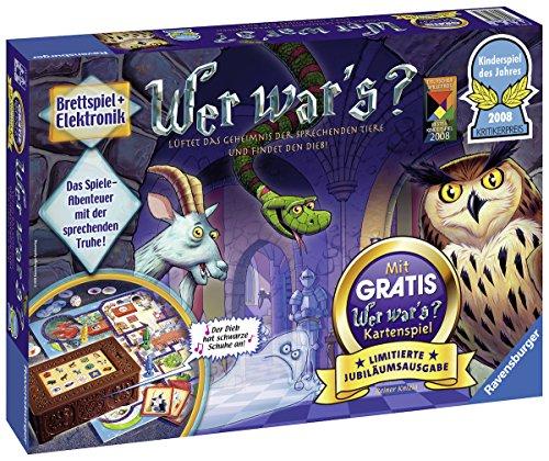 Ravensburger Kinderspiele 21371' Wer War's-Limitierte Jubiläumsausgabe Spiel, Keine